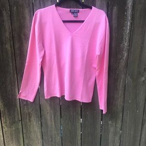 Ann May Pink Top
